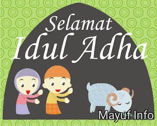 Selamat Hari Raya Idul Adha 1438 H - 2017 M