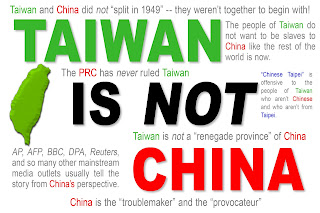 Look who else constantly sees Taiwan through Chinese eyes