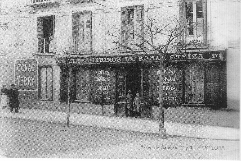Paseo De Valencia Memorias Del Viejo Pamplona # Muebles Vizcaino Dos Hermanas