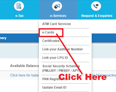 how to get sbi virtual credit card
