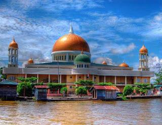 Masjid Jami' Ibrahim Nagara Hulu Sungai Selatan