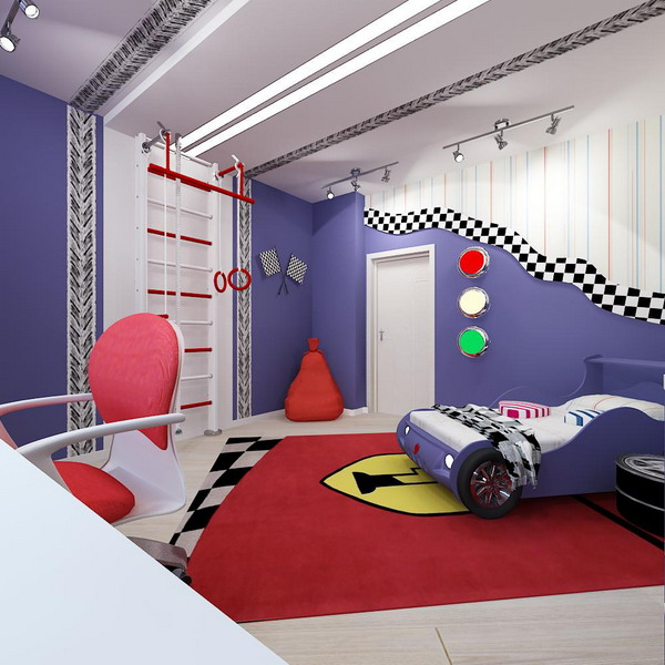 Bright Interiors Childrenu0027s Rooms And Cool Designs For Boys