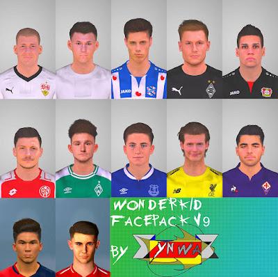 PES 2017 Wonderkid Facepack V9 by YNWA