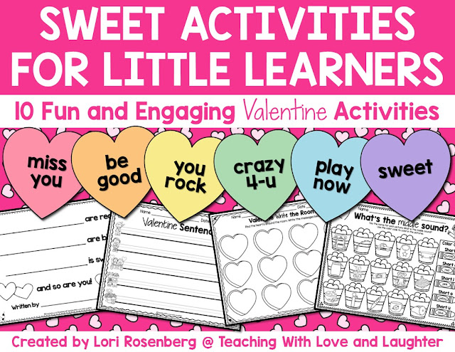Sweet Valentine S Day Activities Teaching With Love And Laughter