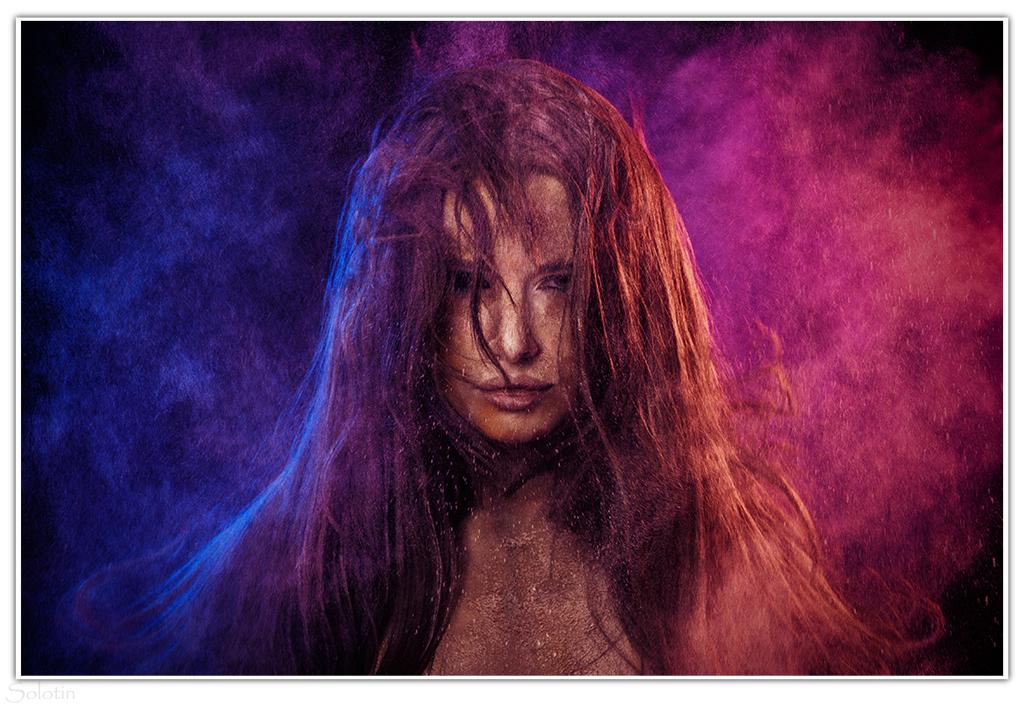 фотосессия с сухими красками в Тамбове
