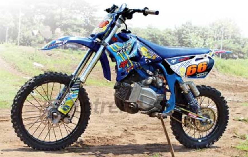 Gambar Motor Poswan Modif Trail | Cahunit.com