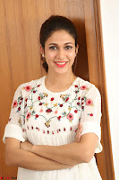 Lavanya Tripathi in Summer Style Spicy Short White Dress at her Interview  Exclusive 230.JPG