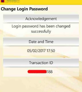Mobile banking mpin or login password change kaise kare 8