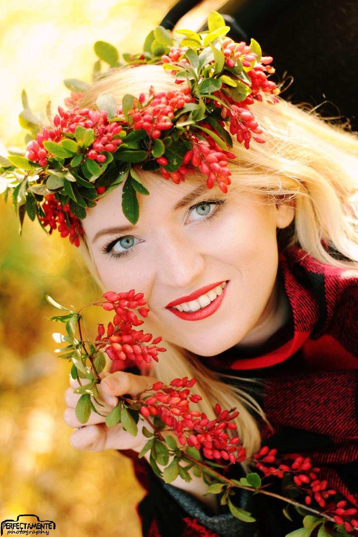 jesienna sesja zdjęciowa blog moda