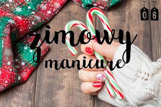6. Zimowy manicure