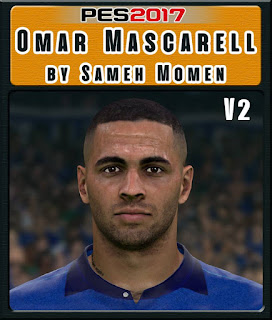 PES 2017 Faces Omar Mascarell by Sameh Momen
