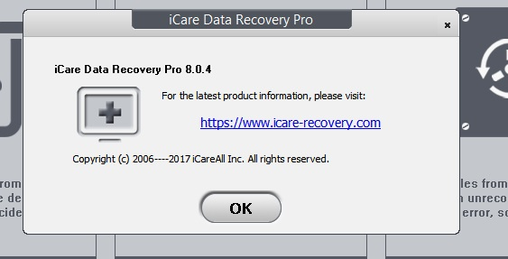 icare data recovery licence code 2017