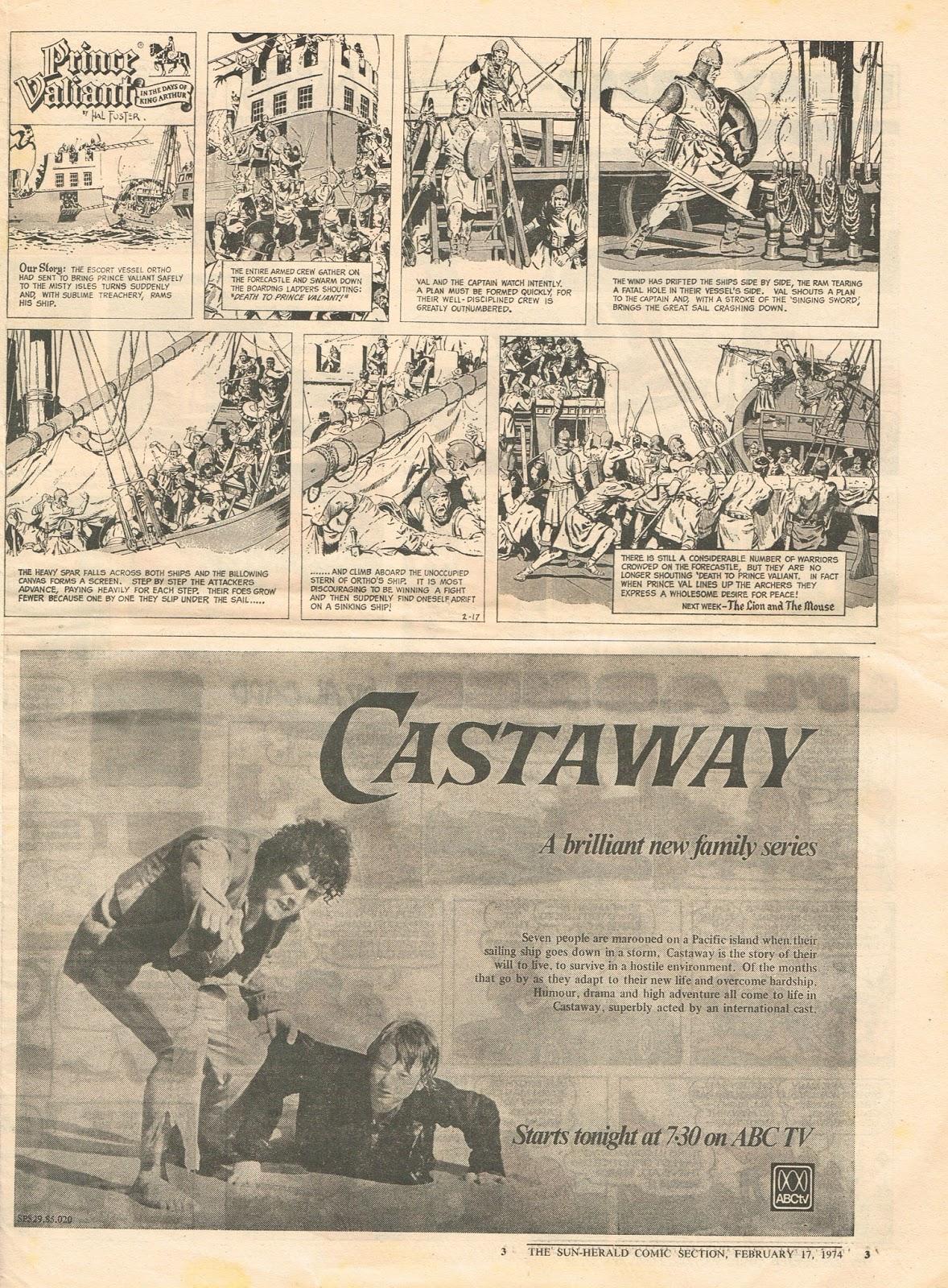 Pikitia Press Blog: The Sun-Herald Comic Section February 17
