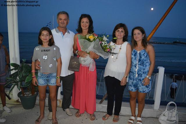 Η Κατερίνη υποδέχτηκε την Ολυμπιονίκη της. Την Κατερίνα Νικολαΐδου. (ΦΩΤΟΓΡΑΦΙΕΣ-ΒΙΝΤΕΟ)