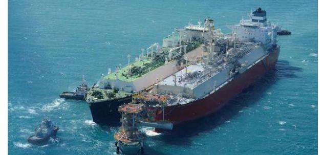 FRU PGN, kapal gasifikasi gas bumi bergerak