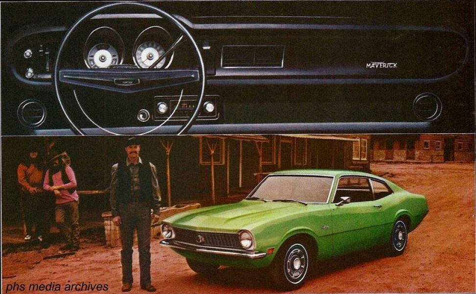 Ford Maverick19691972 Phscollectorcarworld. 1970 Maverick Shown In Anti Establihment Mint One Of 3 Promo Colors That Year. Wiring. 1972 Maverick Dash Wiring Diagram At Scoala.co