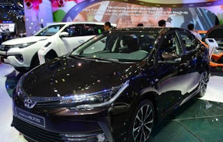 Giá bán Toyota Altis 2018 chỉ từ 640 triệu