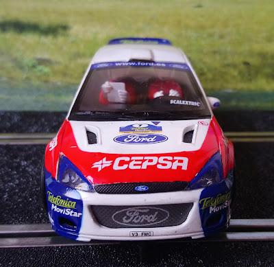 "Ford Focus WRC ""Bollycao"" Scalextric"
