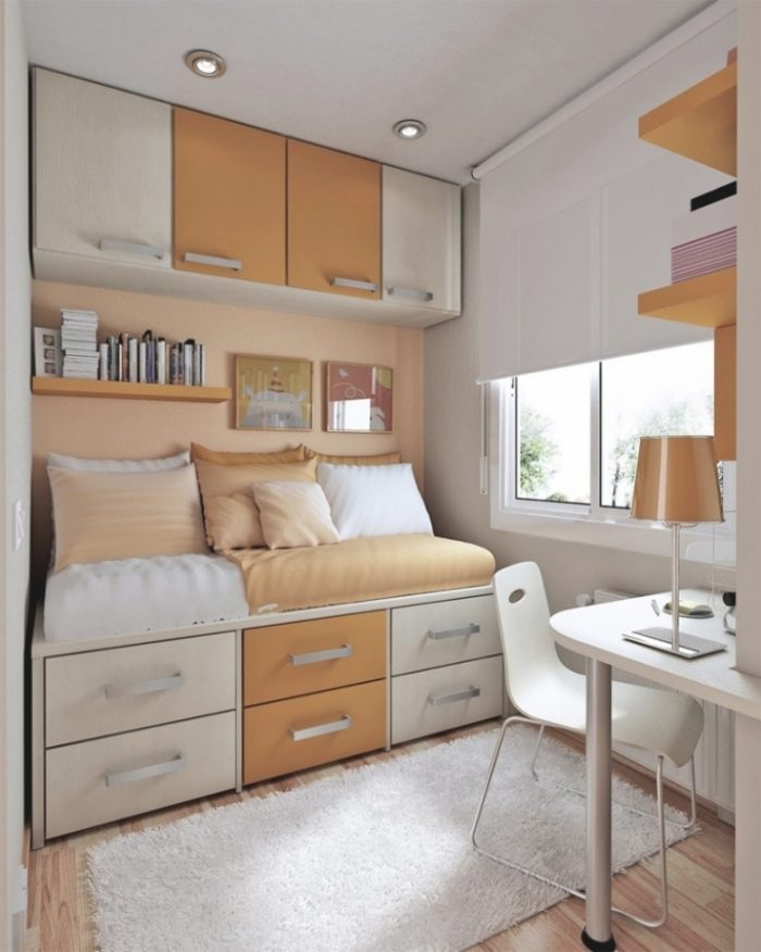Gorgeous Space Saving Ideas For Small Teenage Desks Bedroom Delectable Bedroom Space Saving Ideas Decor Decoration
