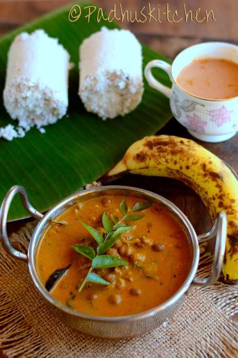 Kadala Curry Recipe-Kerala Kadala Curry for Puttu, Appam ...