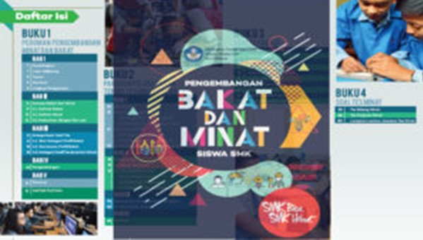 Download Buku Pedoman Pengembangan Bakat dan Minat Siswa SMK format Pdf