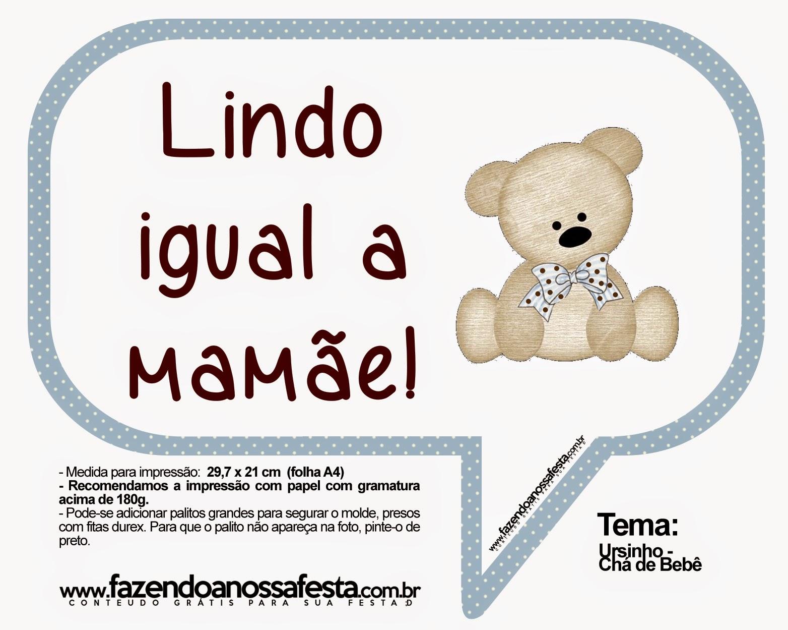 Plaquinhas Para Cha De Bebe Para Imprimir Dicas Pra Mamae