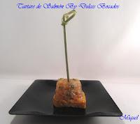 Tartaré de Salmón By Dulces Bocados
