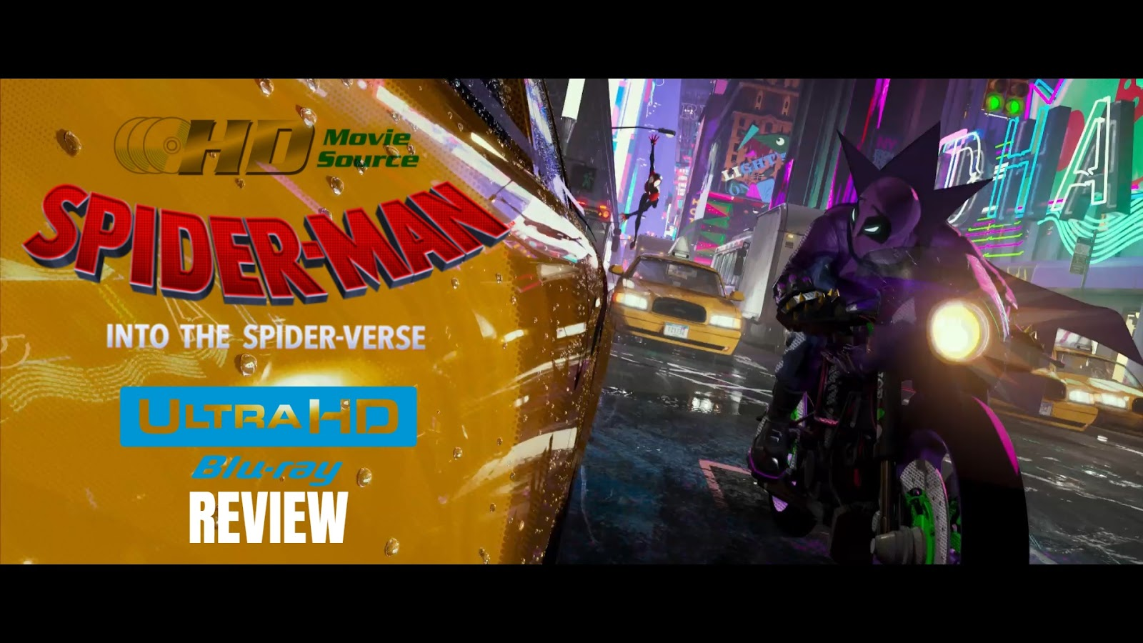 Spider-Man: Into the Spider-Verse 4K Ultra HD Blu-ray Blu-ray Review