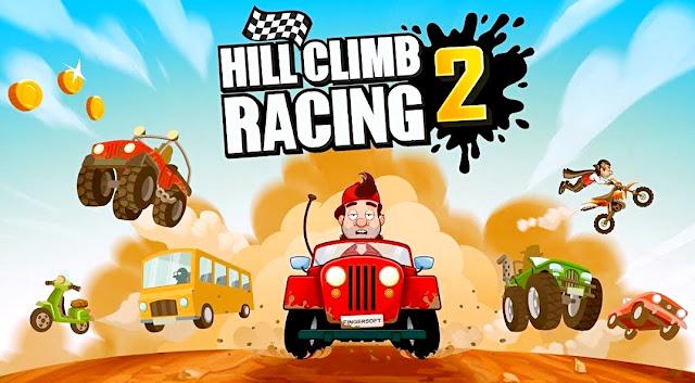 لعبة Hill Climb Racing كامله باحدث اصدار لأجهزة الأندرويد حملها الان