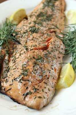 Delicious as it Looks  |  Grilled Rosemary Salmon