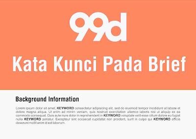 Mencari Kata Kunci Brief di 99designs