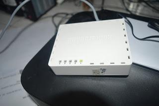 Cara Memperbaiki Lampu Indikator Ethernet Mikrotik RB750