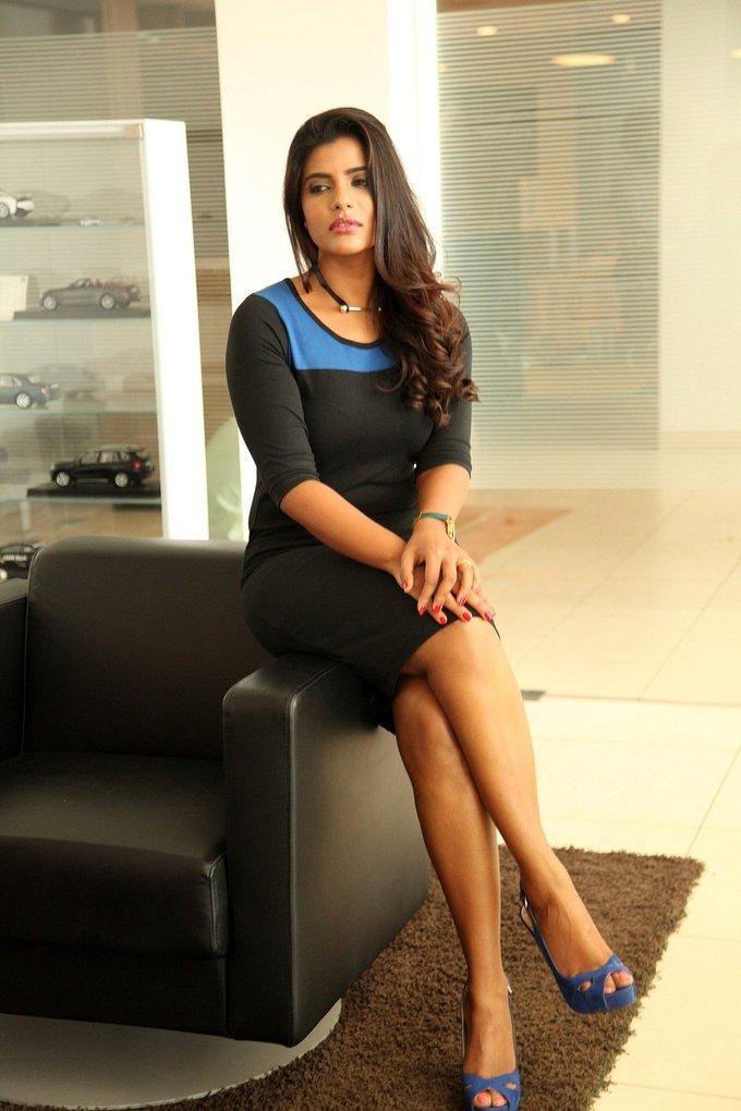Actress Aishwarya Rajesh at G Spot Web Series Launch Stills