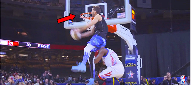 CRAZY Dunks At Halftime Of NBA Celebrity Game Ft. Jordan Kilganon And Crew! (VIDEO)