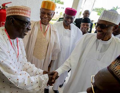 Buhari meets PDP, APC leaders in Aso Rock