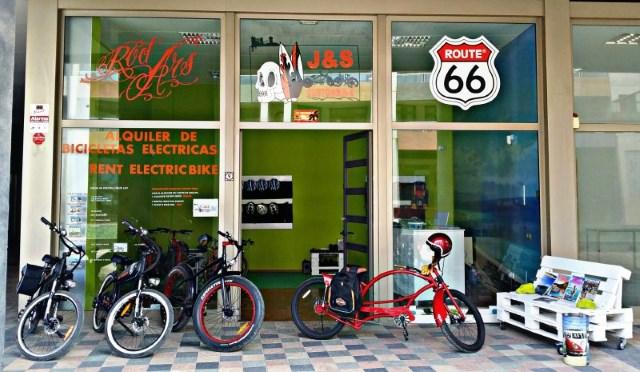 Vélos électriques Bikelec de location
