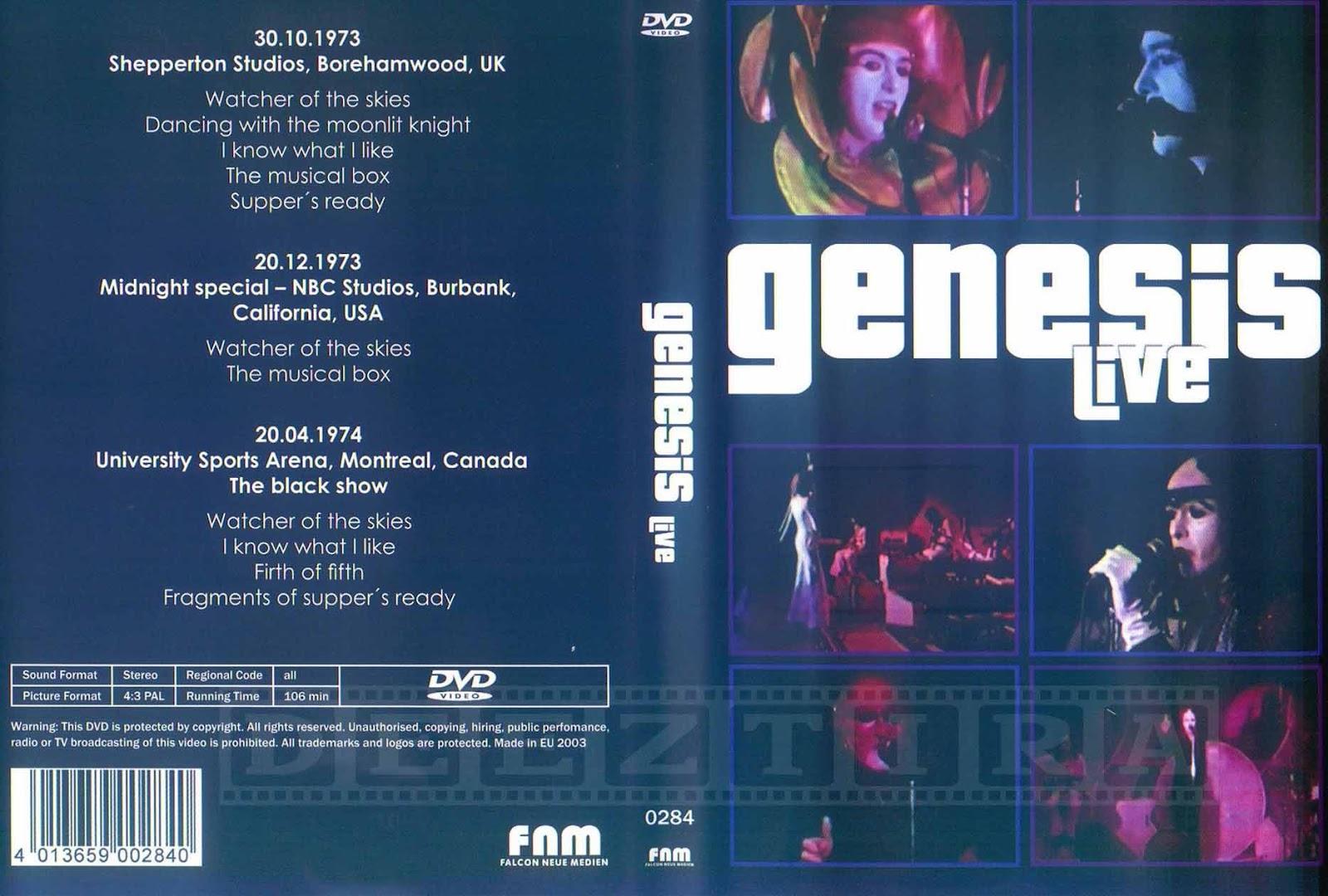 Youdiscoll Genesis Live 1973 1974