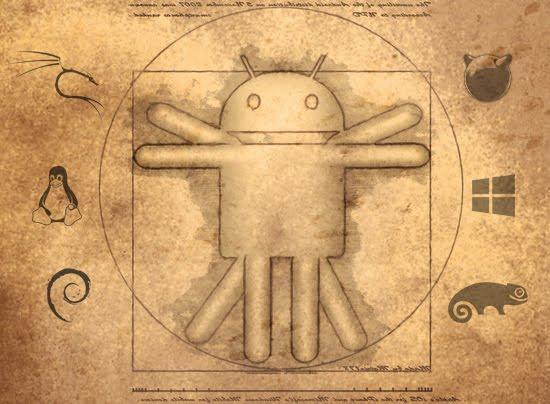 Vitruvian Android