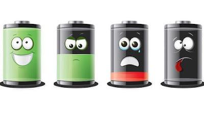 Android Boros baterai
