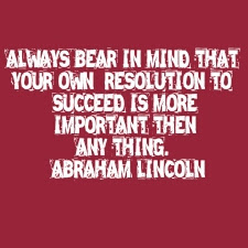 abraham lincoln thought