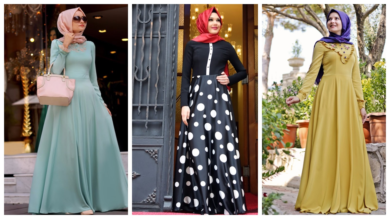 The Latest Hijab Dresses Turkey Winter Dzair Fashion Magazine