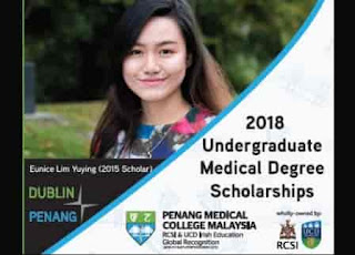 Undergraduate Medical Scholarship in Malaysia from Penang Medical College RCSI & UCD Dublin