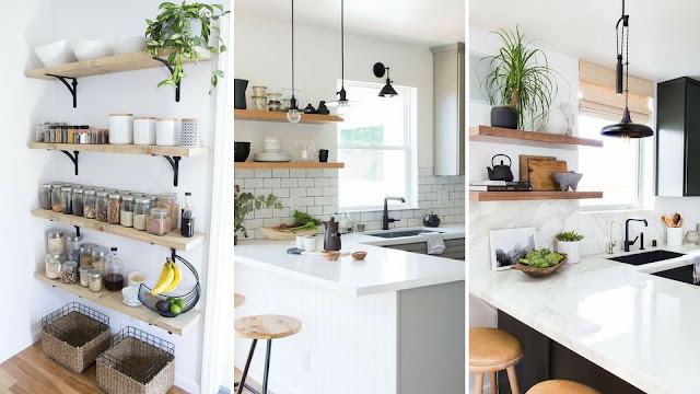 Imágenes de cocinas con baldas