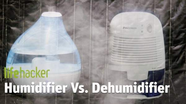 Perbedaan antara humidifier dan dehumidifier