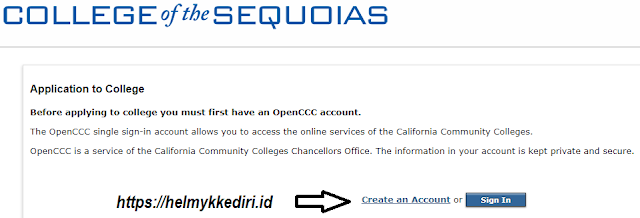Cara membuat email edu student dicollege of sequoiasv