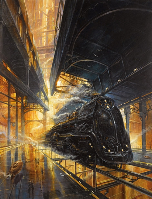 11-Union-Pacific-497-Didier-Graffet-Visions-of-the-future-in-Steampunk-Digital-and-Traditional-Art-www-designstack-co