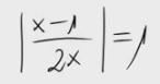 43. Ecuación con valor absoluto y grado 2, 2