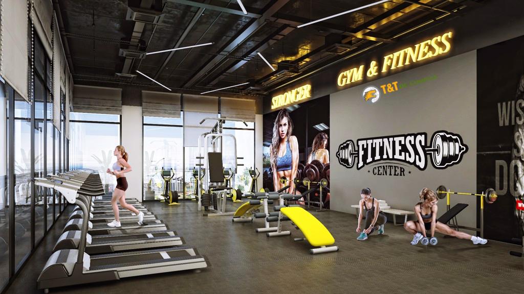 Phòng tập Gym dự án 120 Định Công