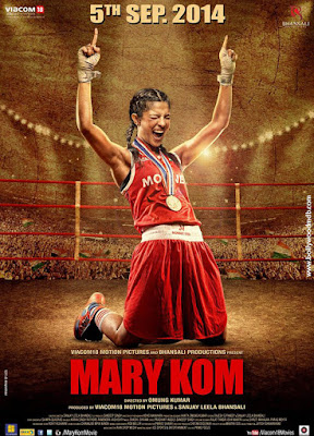 Mary Kom 2014 Hindi 720p BluRay 1GB