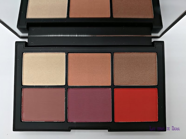 Unfiltered I Cheek Palette  Nars narsissist makeup beauty blush swatches